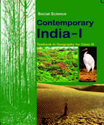 NCERT Contemprary India  Geography for - Class 9 - Latest edition as per NCERT/CBSE