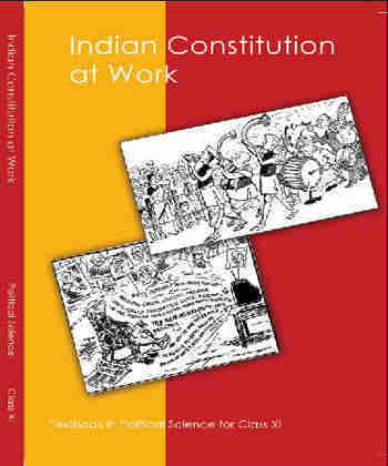 NCERT Indian Constitution at Work for Class 11