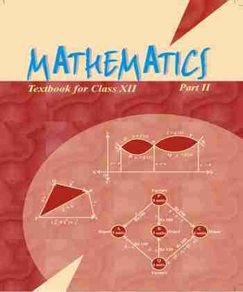 NCERT Mathematics Part II for Class 12