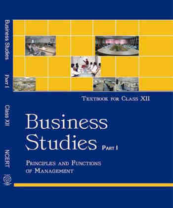 NCERT Business Studies I for Class 12