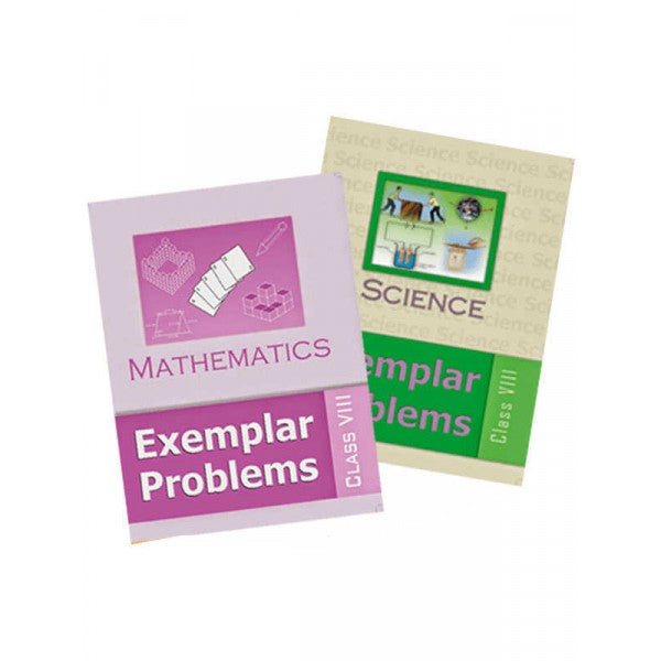 NCERT Science and Mathematics Exemplar Set for Class 8 - Latest edition as per NCERT/CBSE