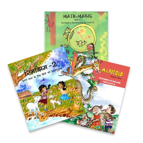 NCERT Complete Books Set for Class 2 (English Medium)- As per Latest syllabus by NCERT/CBSE