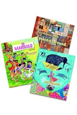 NCERT Complete Books Set for Class 4 (English Medium) - Latest edition as per NCERT/CBSE