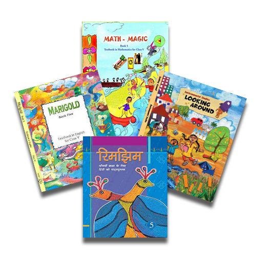 NCERT Complete Books Set for Class 5 (English Medium) - Latest edition as per NCERT/CBSE