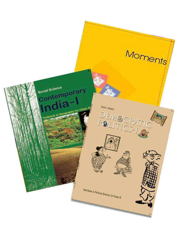 NCERT Complete Books Set for Class 9 (English Medium) - Latest edition as per NCERT/CBSE