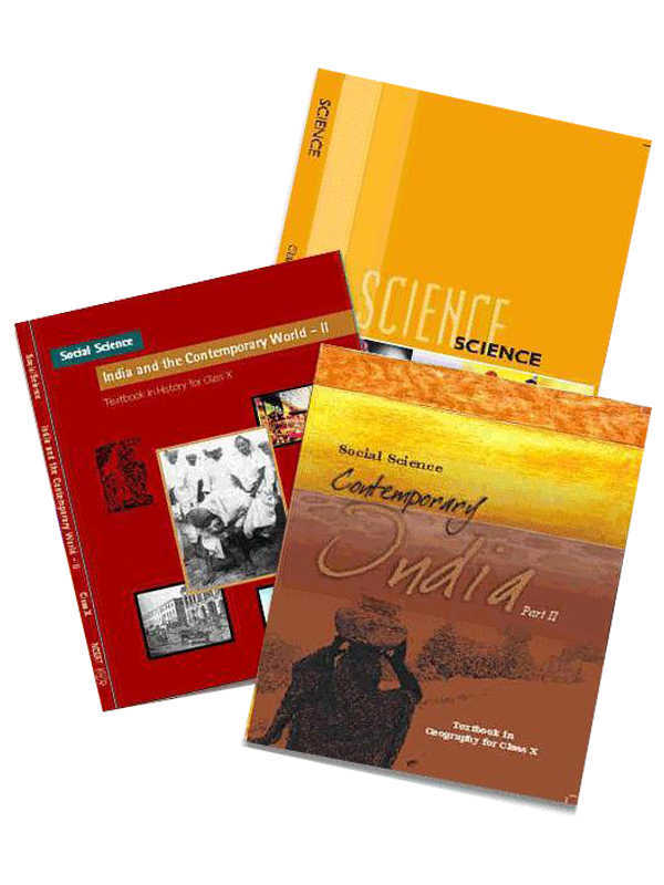 NCERT Complete Books Set for Class -10 (English Medium)