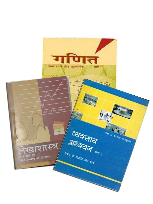 NCERT Commerce Complete Books Set for Class -12 (Hindi Medium)