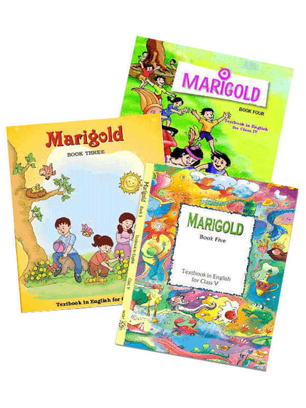 NCERT Marigold Books Set for Class -1 to 5 (English & Hindi Medium)