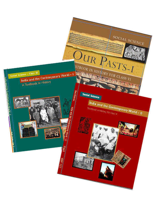 NCERT History Books Set for Class -6 to 12 (English Medium)