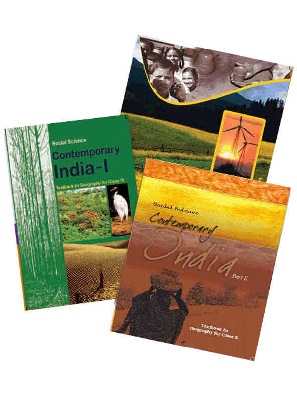 NCERT Geography Books Set for Class -6 to 12 (English Medium)