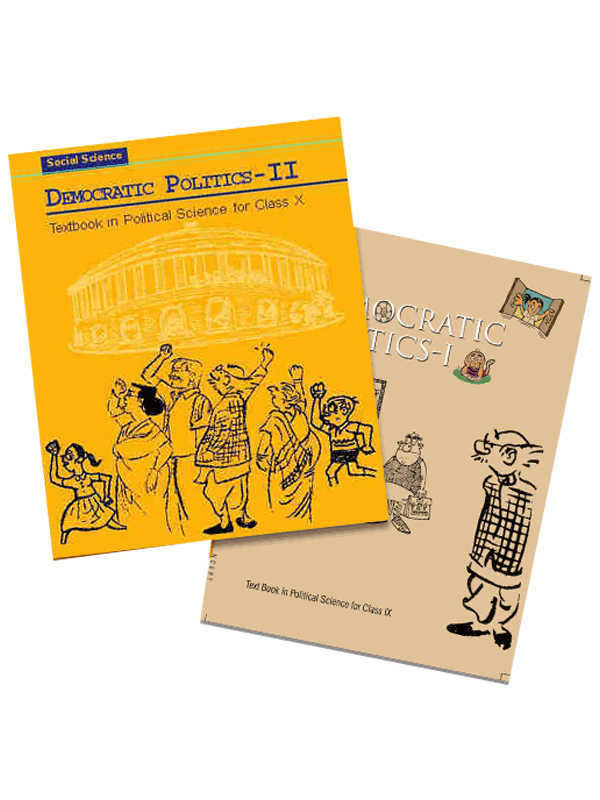 NCERT Political Science Books Set for Class -6 to 12 (English Medium)