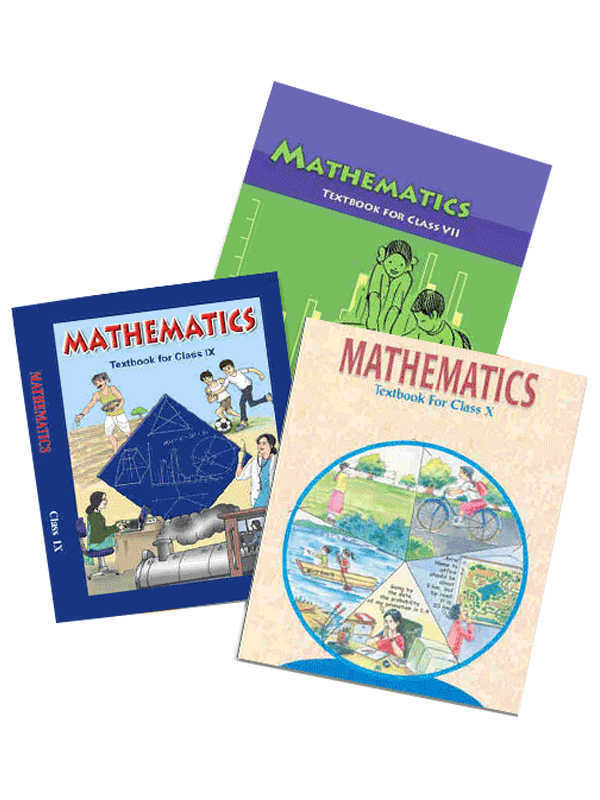 NCERT Mathematics Books Set for Class -6 to 10 (English Medium)