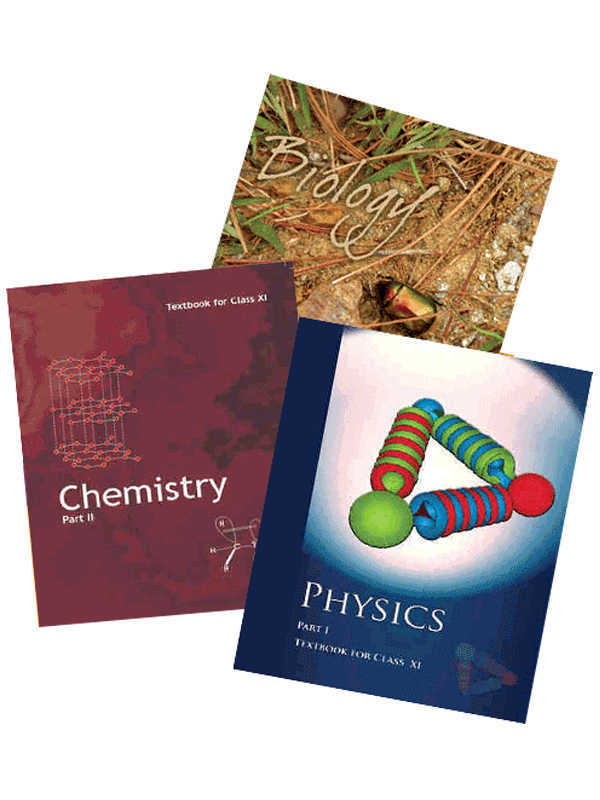 NCERT Physics, Chemistry,Biology (PCB) Books Set for Class 11 (English Medium)