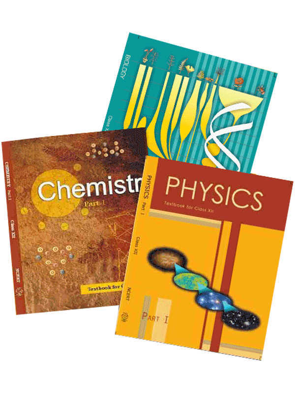 NCERT Physics, Chemistry,Biology (PCB) Books Set for Class 12 (English Medium)
