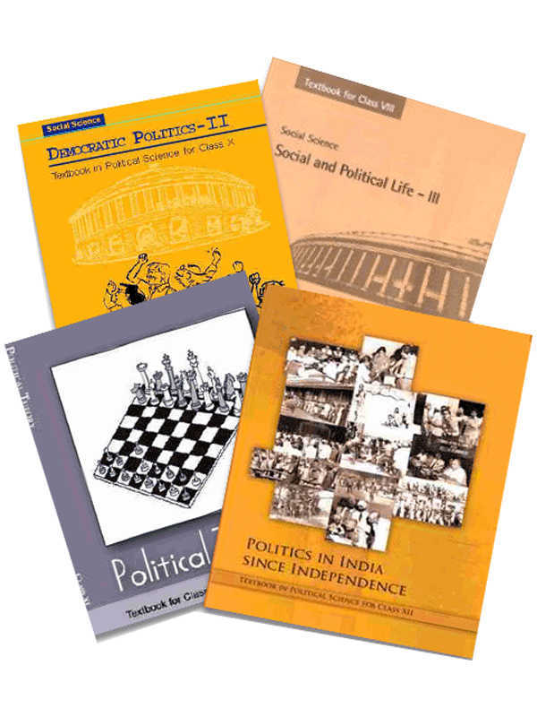 NCERT Political Science Books Set of Class -6 to 12 for UPSC Exams (English Medium)
