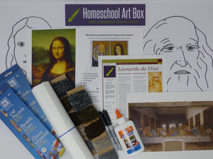 Leonardo da Vinci Art Box for 2 students - Includes Shipping