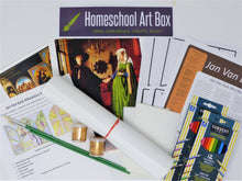 Load image into Gallery viewer, Jan Van Eyck Homeschool Art Box for 2 students - Includes Shipping