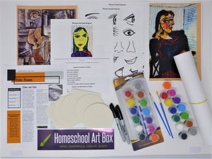 Monthly Subscription Art Box for 2 Students - 1st box ships September 10!