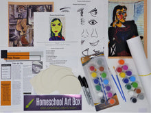 Load image into Gallery viewer, Monthly Subscription Art Box for 4 Students - monthly price includes shipping