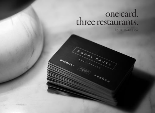 Equal Parts Events Digital Gift Cards (to be used on the website)