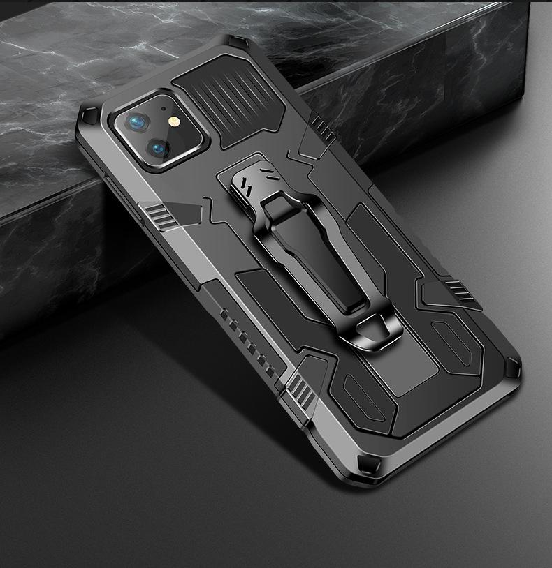 2020 Newest Car Magnetic Phone Case With Sports Hybrid Protection Bracket