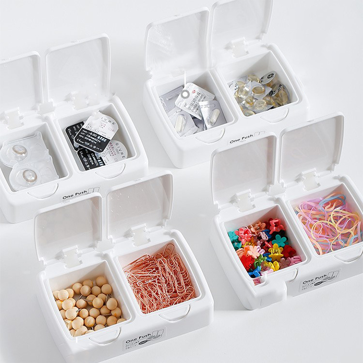 Button storage box(Car & Home 2 in 1)