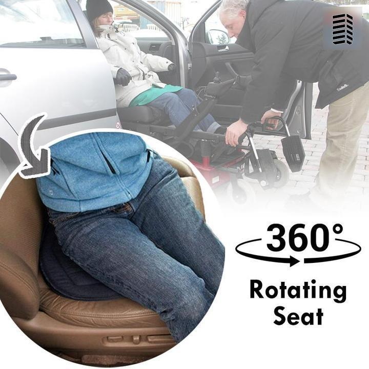 2020 Newest Nano Silver Ion Rotating Cooling Seat Cushion