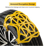 (Hot Sales 50% Off)Car tire snow chains-buy 2 sets 10% OFF