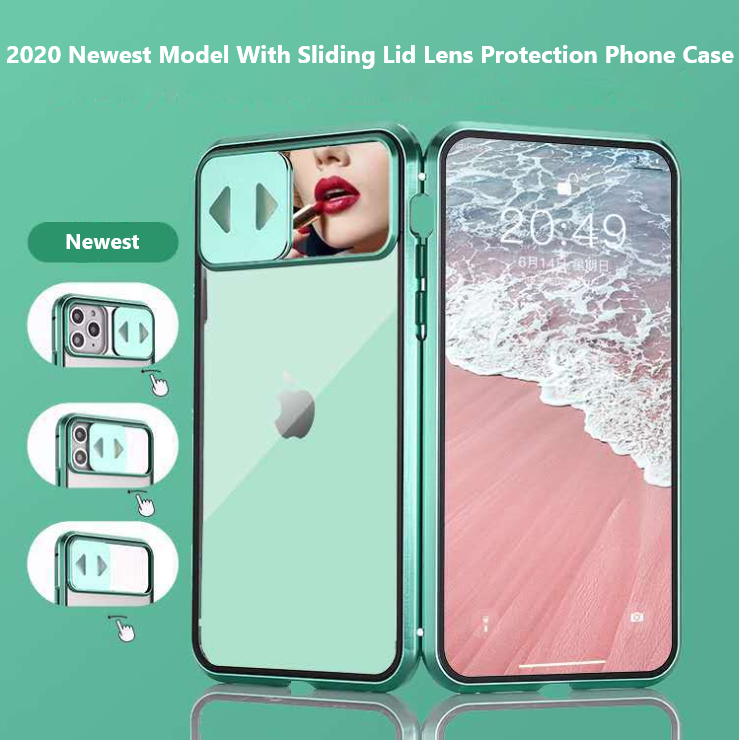 2020 Newest Model With Sliding Lid Lens Protection Phone Case
