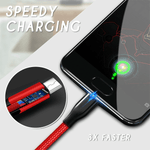 【BUY 3 FREESHIPPING】Auto Cut-off Speedy-Charge Nylon Cable