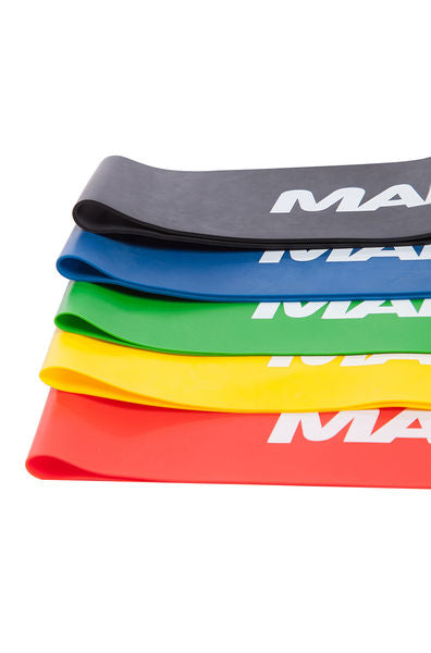 רצועות התנגדות - Mad Wave Expander Short Resistance Bands - דוגית
