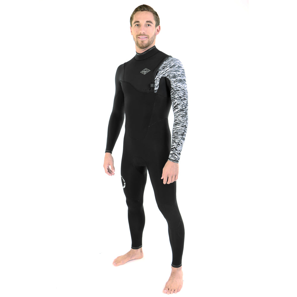 Fullsuit 3/2 FIGHTER JORGANN Zip-Free 2020 שחור
