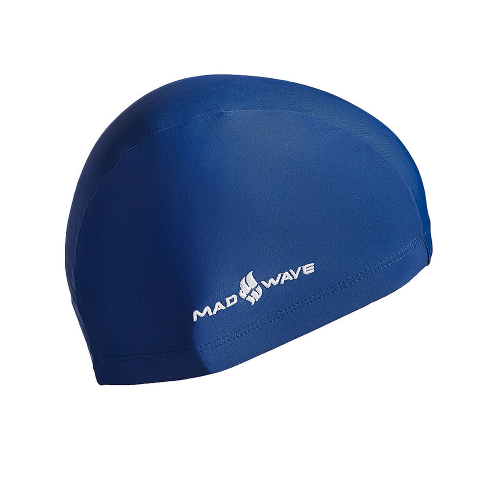 כובע לייקרה לנוער Mad Wave Lycra Cap Junior - דוגית