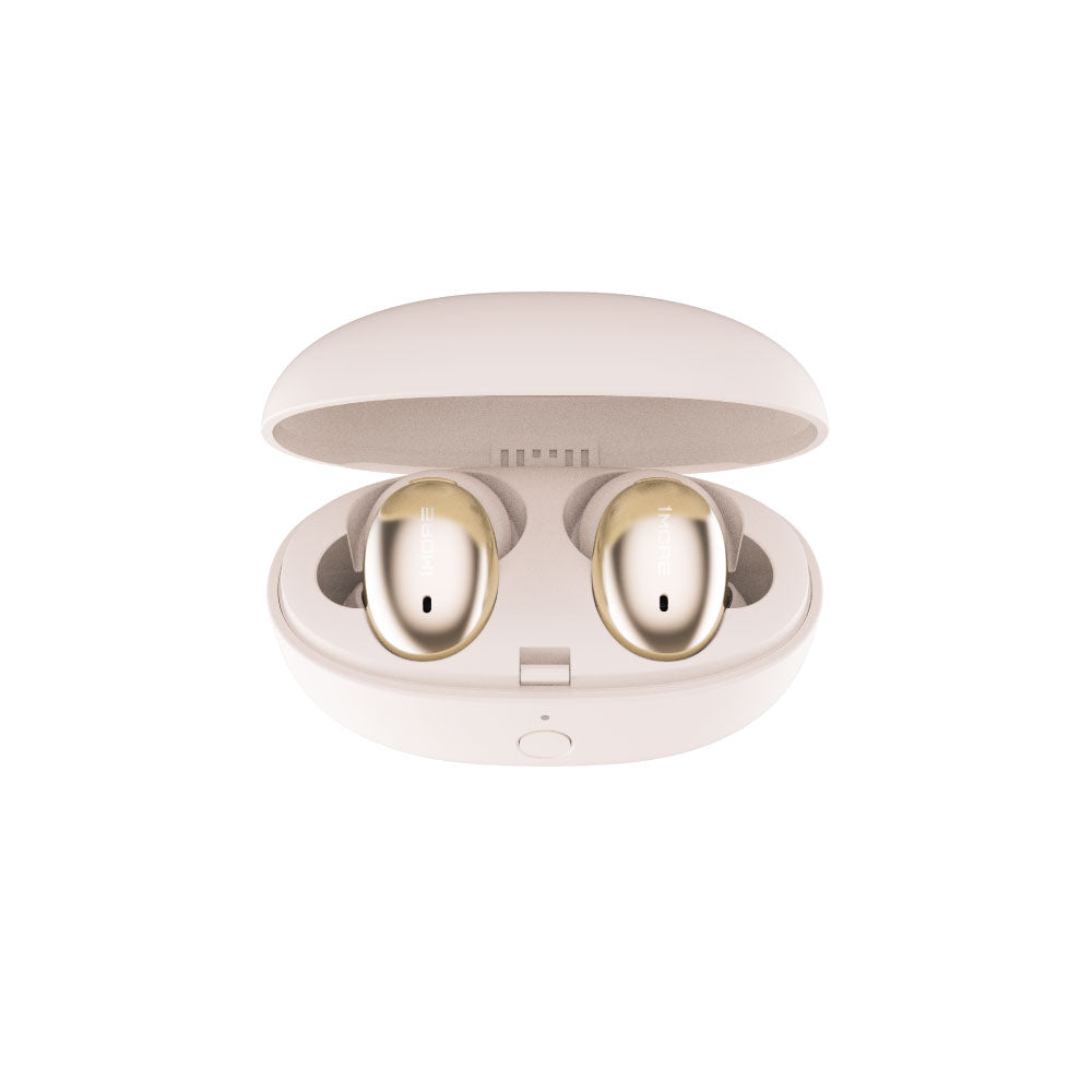1MORE אוזניות כפתור Stylish True Wireless In Gold