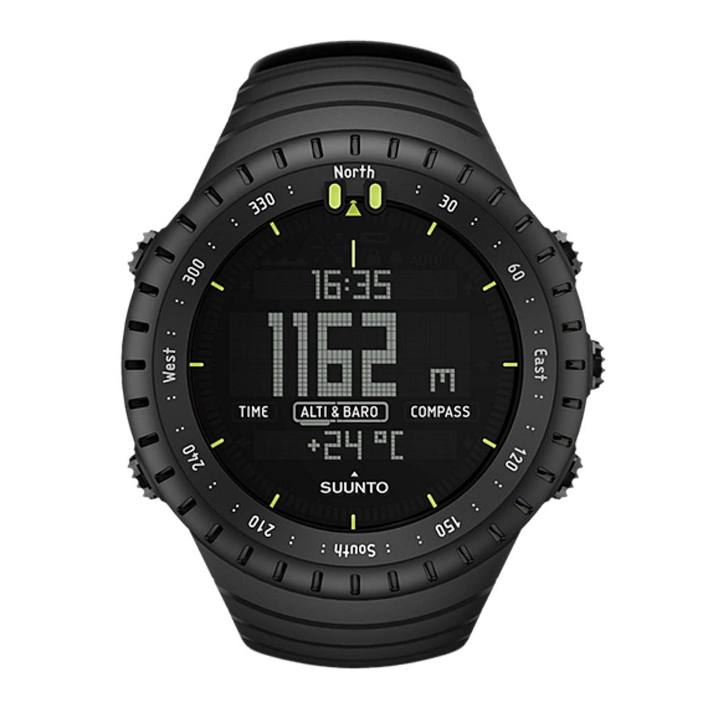 שעון שטח סונטו Suunto Core -All Black - דוגית