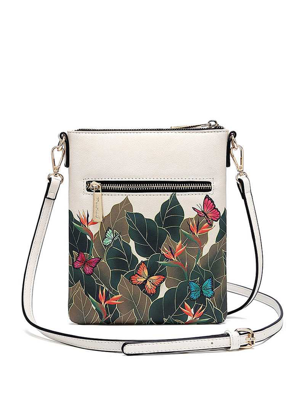 FRIDA KAHLO AUTHENTIC CARTOON SERIES SIMPLE CROSSBODY BAG - Beige