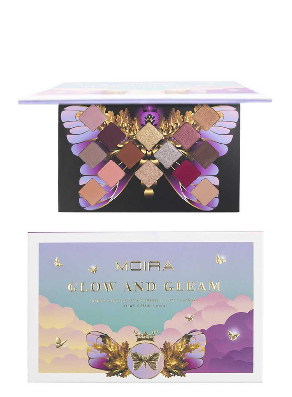 MOIRA BEAUTY MYSTIC PALETTE SERIES - GLOW AND GLEAM