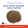 Beef Heart Strong Supplement Food Topper 8oz