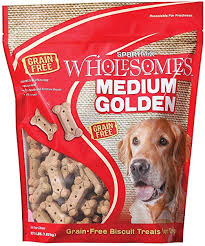 Wholesome Grain Free Golden Biscuit 4lb