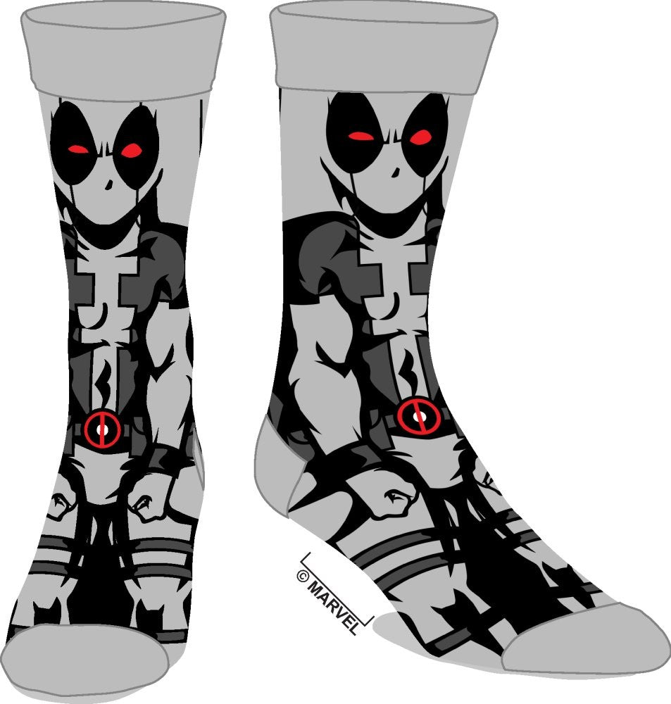 Marvel | Deadpool X Force 360 Character Crew Socks