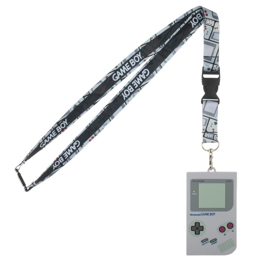 Nintendo | Gameboy Lanyard with Rubber ID Holder