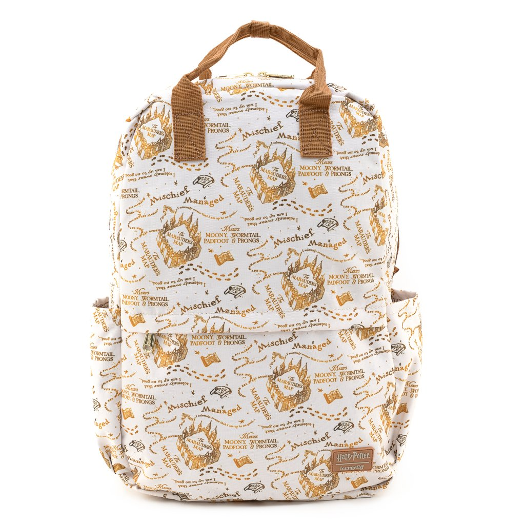Harry Potter | Marauders Map All Over Print Nylon Backpack