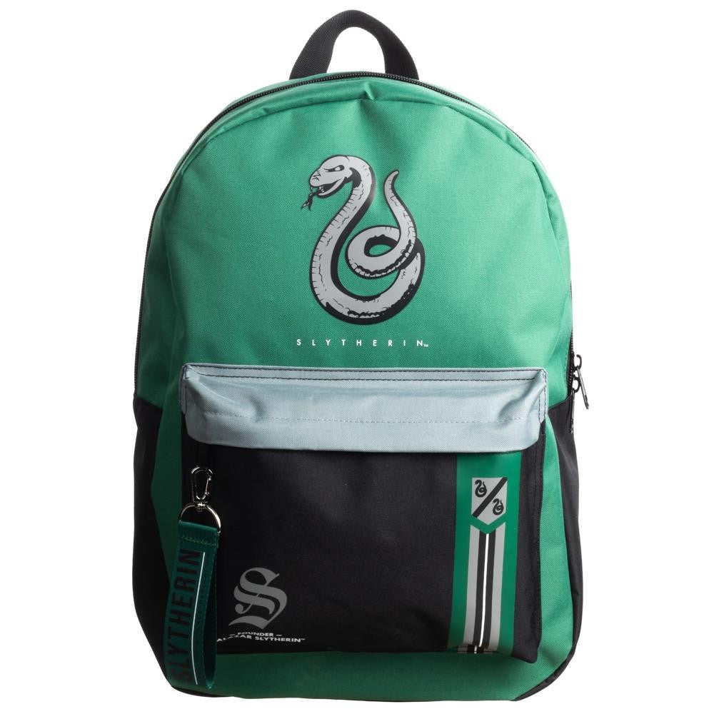 Harry Potter | Slytherin Mixblock Backpack with Webbing Puller