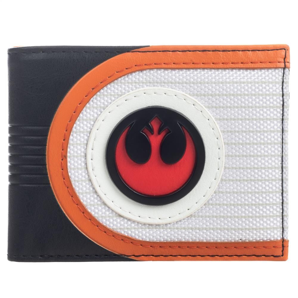 Star Wars | Mixed Material Rebel Bifold Wallet