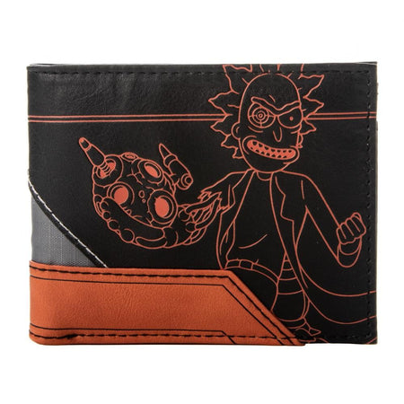 Rick and Morty | Layered Material Bifold Wallet