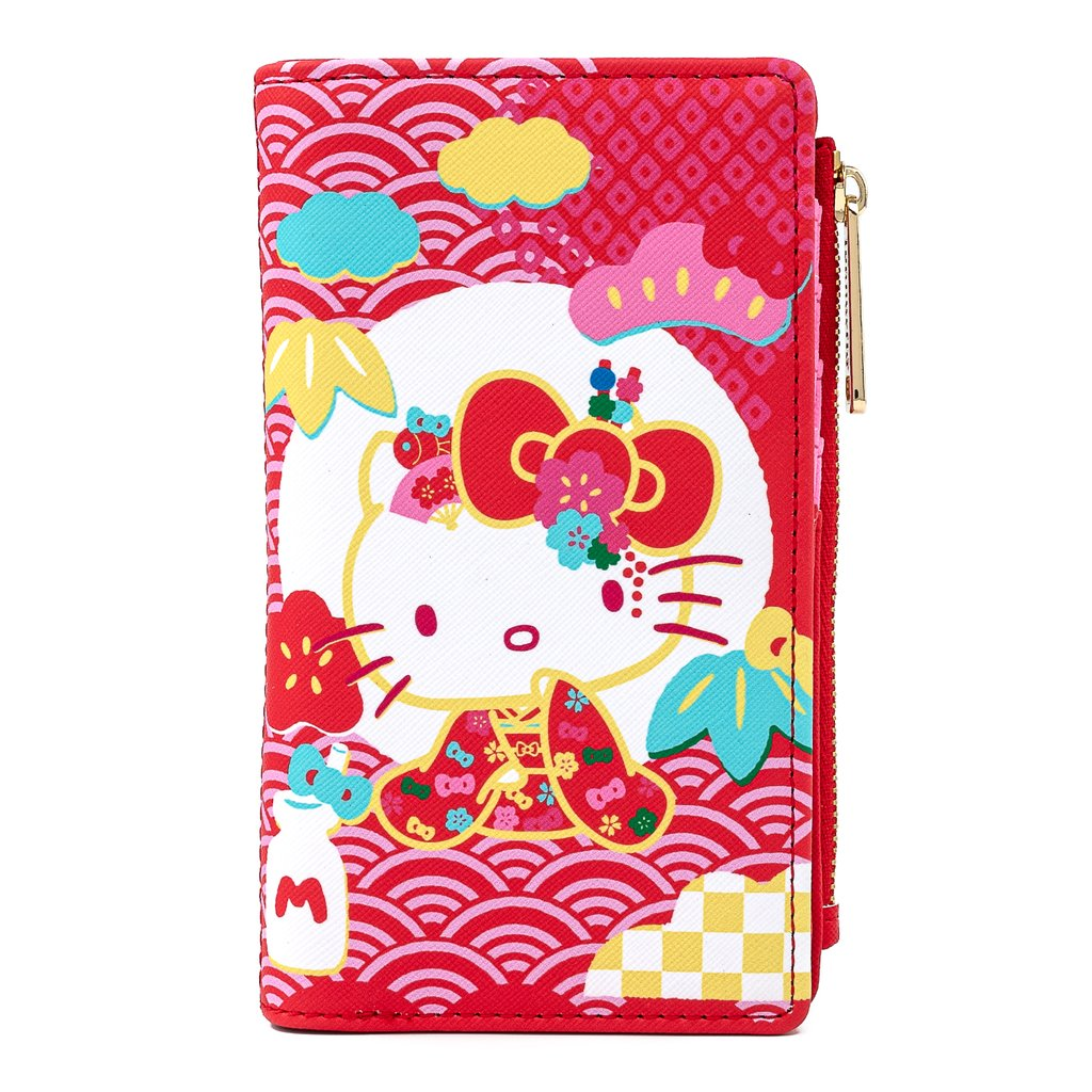 Sanrio | 60th Anniversary Button Flap Wallet