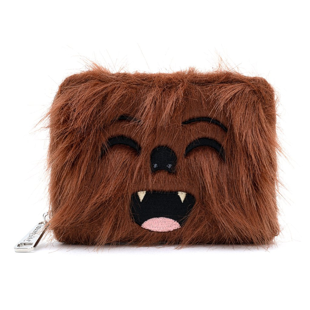 Star Wars | Chewbacca Faux Fur Zip Around Wallet