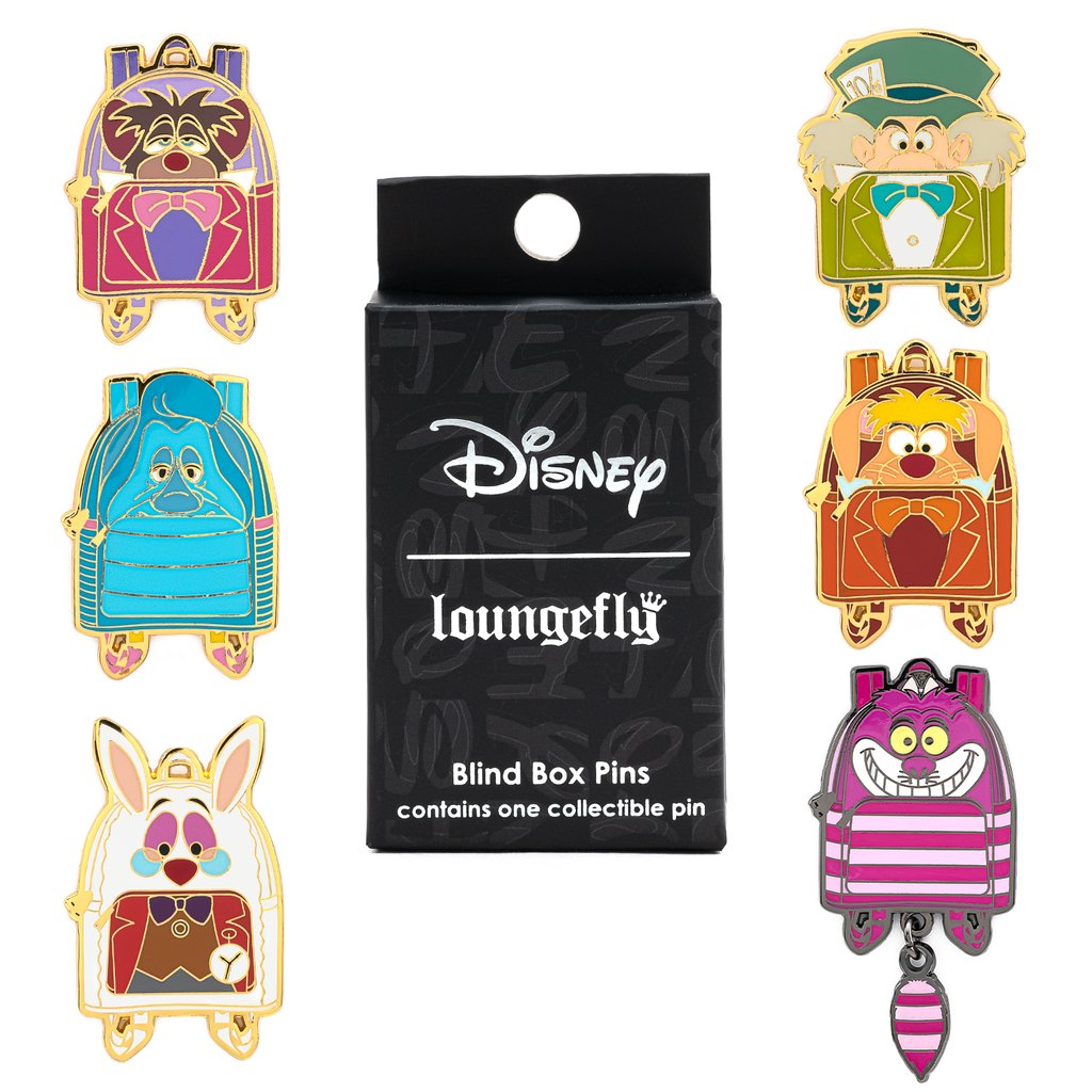 Disney | Alice In Wonderland Mini Backpack Blind Box Enamel Pin