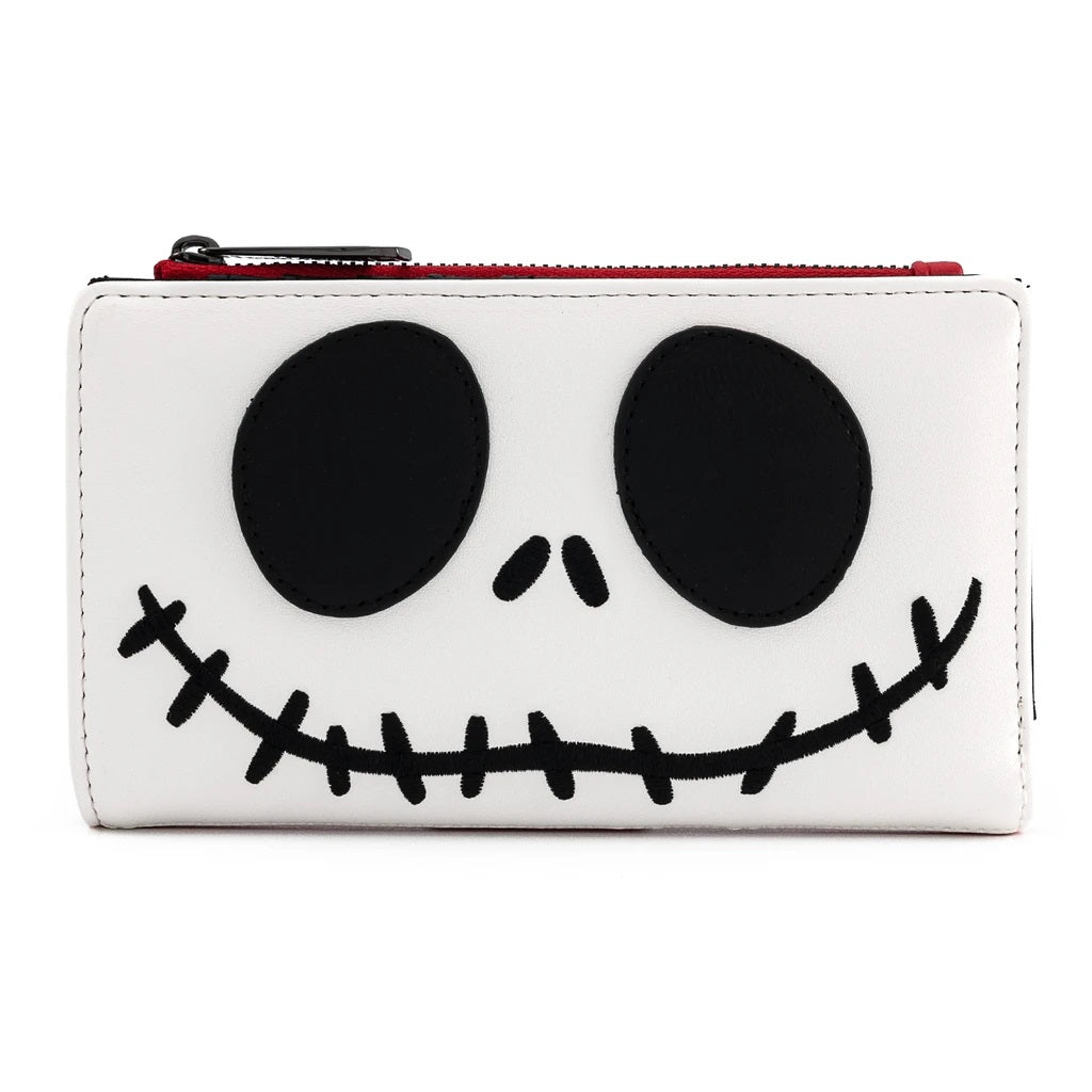 Disney | The Nightmare Before Christmas Santa Jack Zippered Wallet