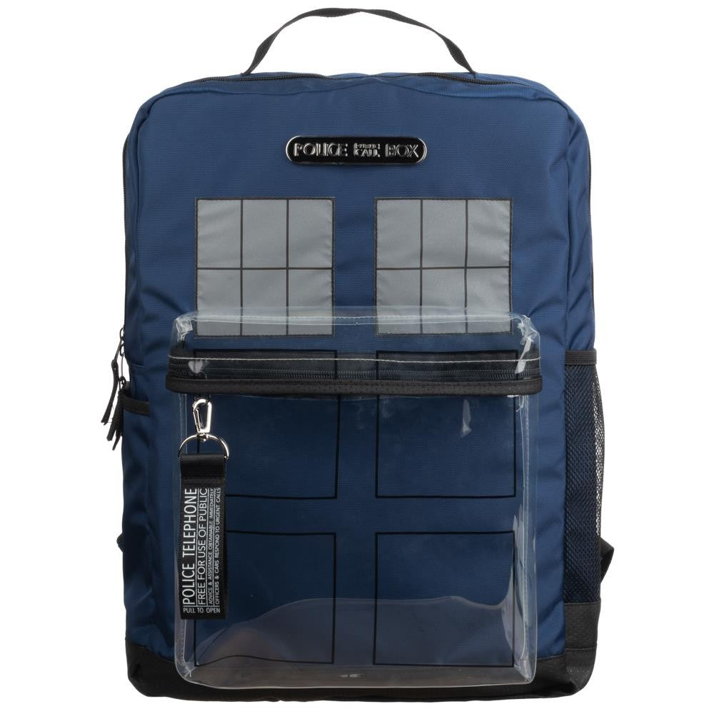 Doctor Who | Tardis Backpack with Clear Front Window